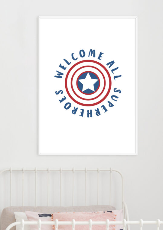 Poster Welcome superheroes Poster 2