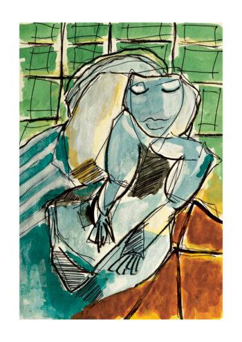 - Masch PosterSleeping Woman At Picasso - Masch Poster 1