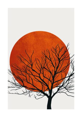 - Kubistika PosterWarm Winter - Kubistika Poster 1