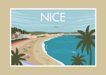 Poster Nice/Nizza Vintage Poster 1
