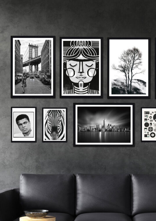 - Kubistika PosterRocky Mountain - Kubistika Poster 3