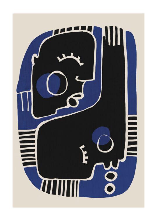 - treechild PosterMonmon blue - treechild Poster 1