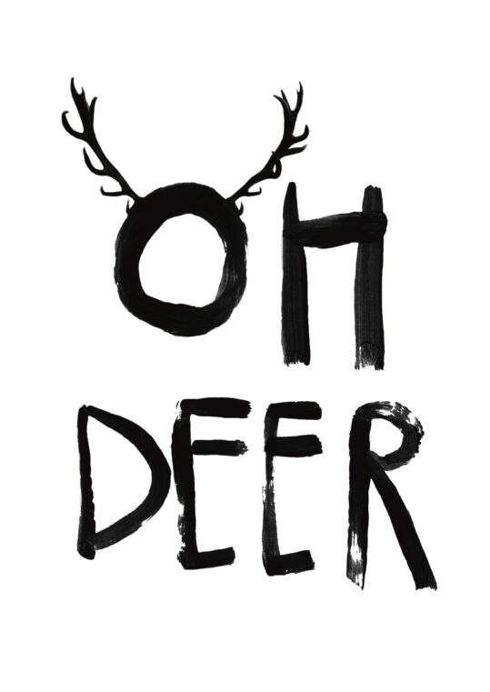 - treechild PosterOh deer - treechild Poster 1